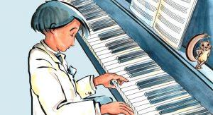 قصص أطفال ثمان سنوات قصة العازف الصغير