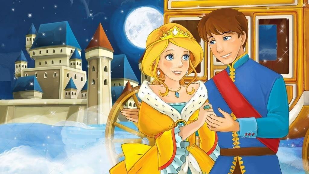 قصة أميرة القصر الذهبي