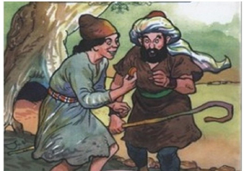 قصة الأخوين والحية