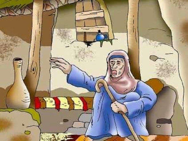 قصة الأعرابي وعجوز بني إسرائيل