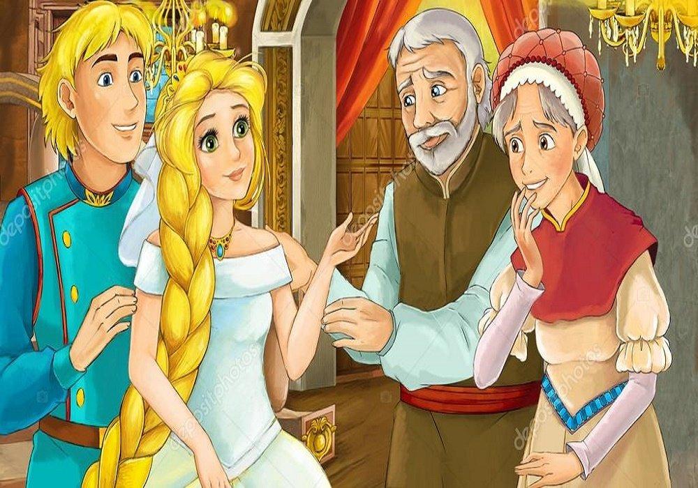 قصة الأميرة جلد الدب