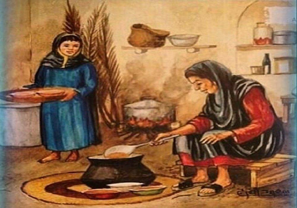 قصة الجدة الحكيمة