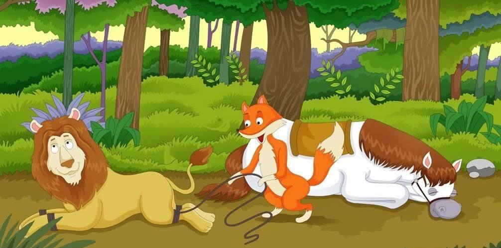 قصة الحصان المسكين