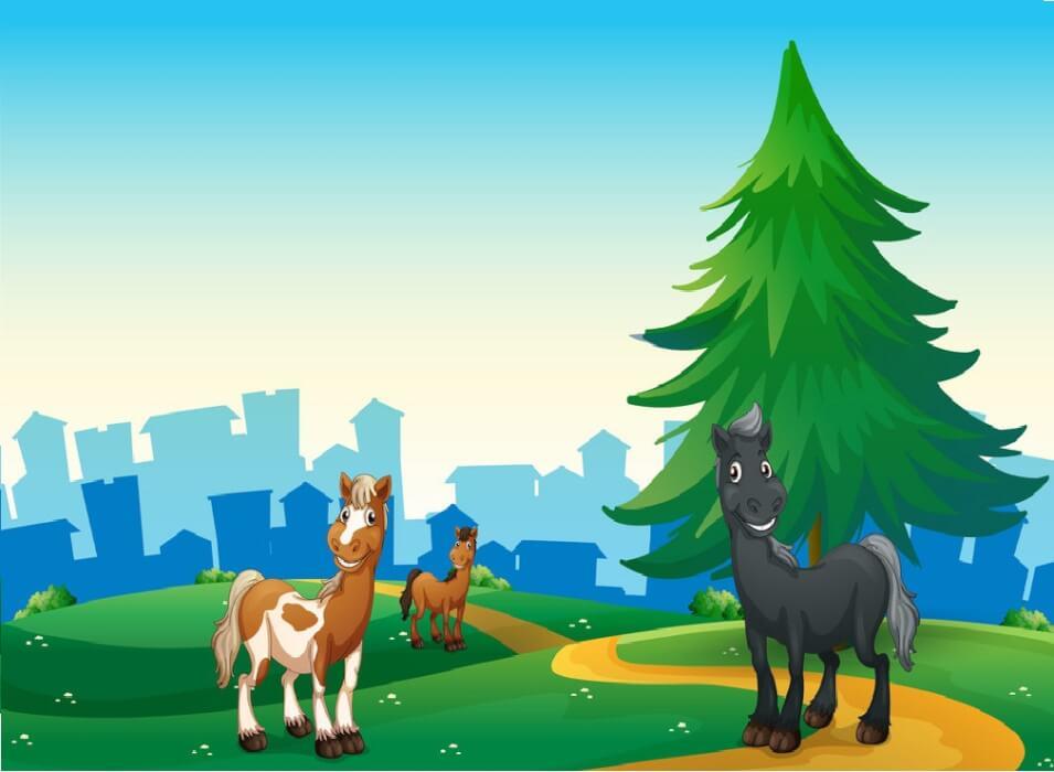 قصة الحصان مخلص