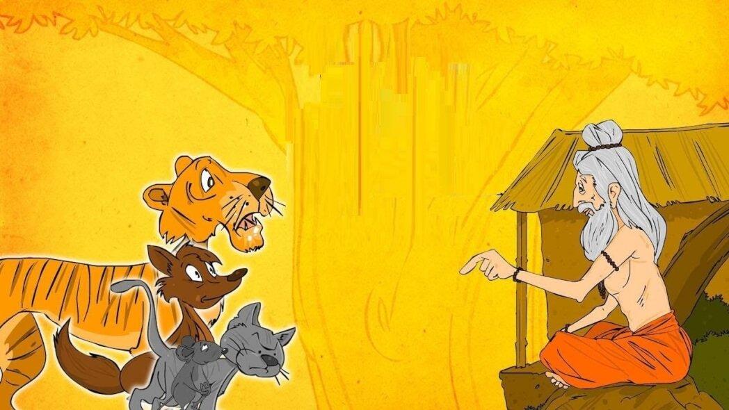 قصة الحكيم والفأر الصغير