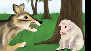 قصة الذئب والكلاب قصة جميلة من حكايات جدتي سعاد