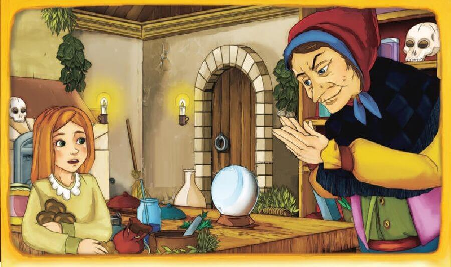 Photo of قصة الساحرة العجوز