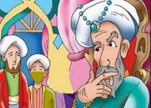 قصة الساقي والملك