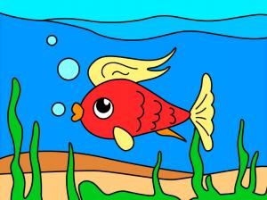 قصة السمكة الصغيرة (بينو)