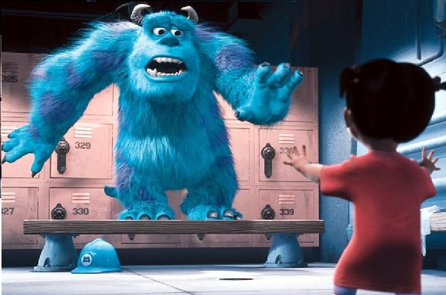 قصة الشبح الأزرق