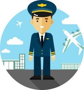 قصة الطيار