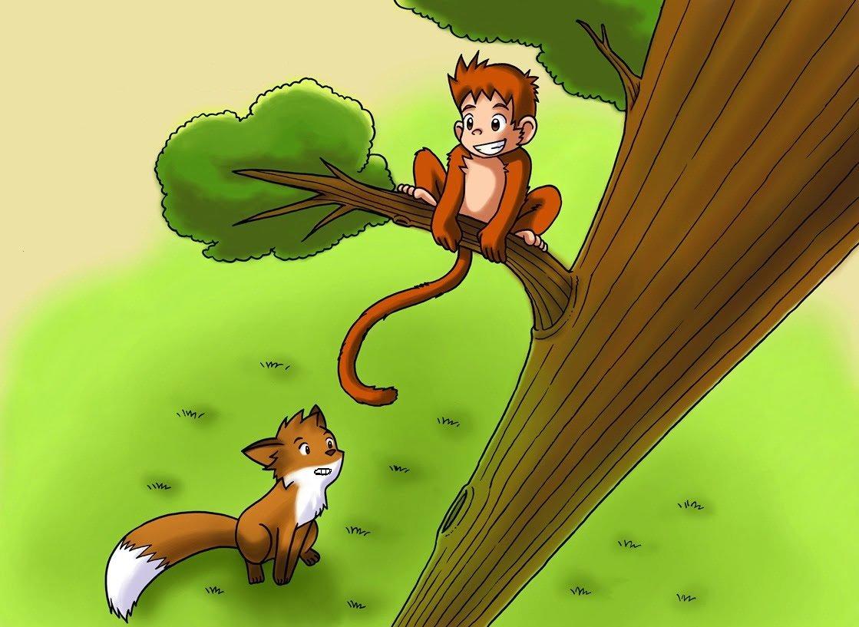 قصة القرد مطيع