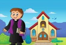 Photo of قصة الكاهن الصغير والضفدعة