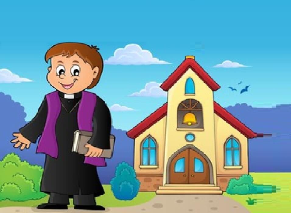 قصة الكاهن الصغير والضفدعة