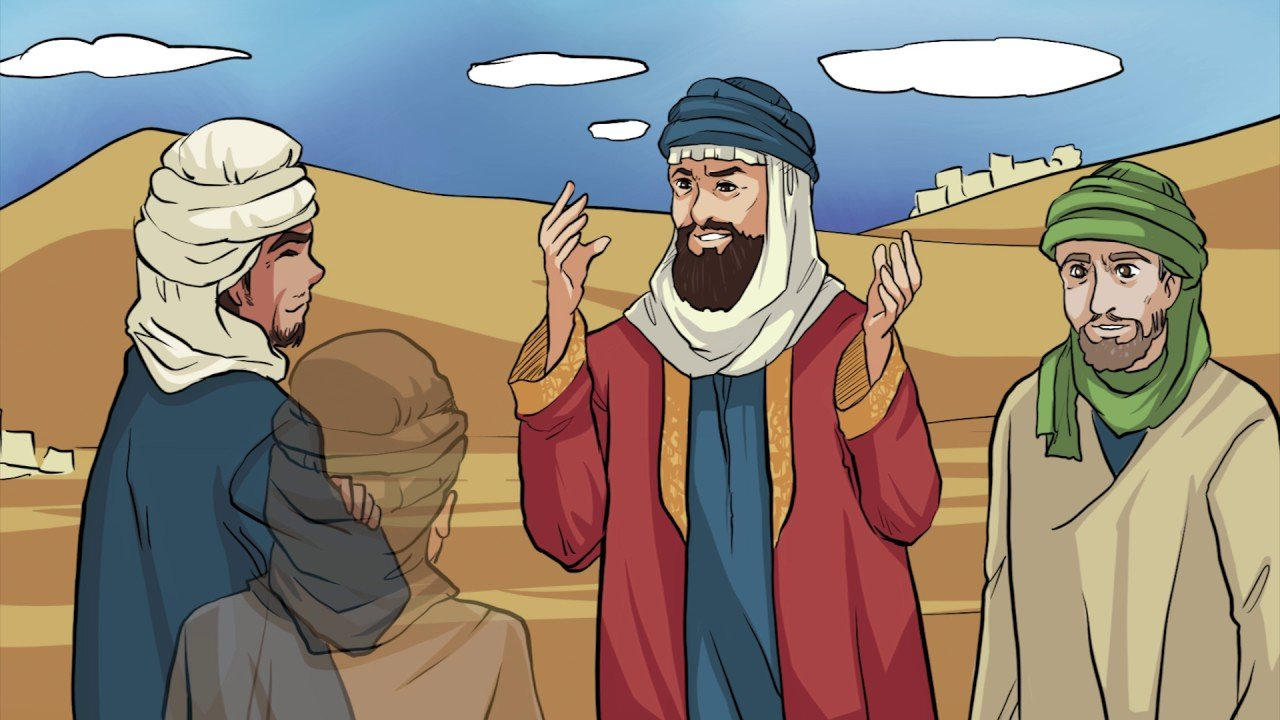 قصة الملك النعمان والطائي