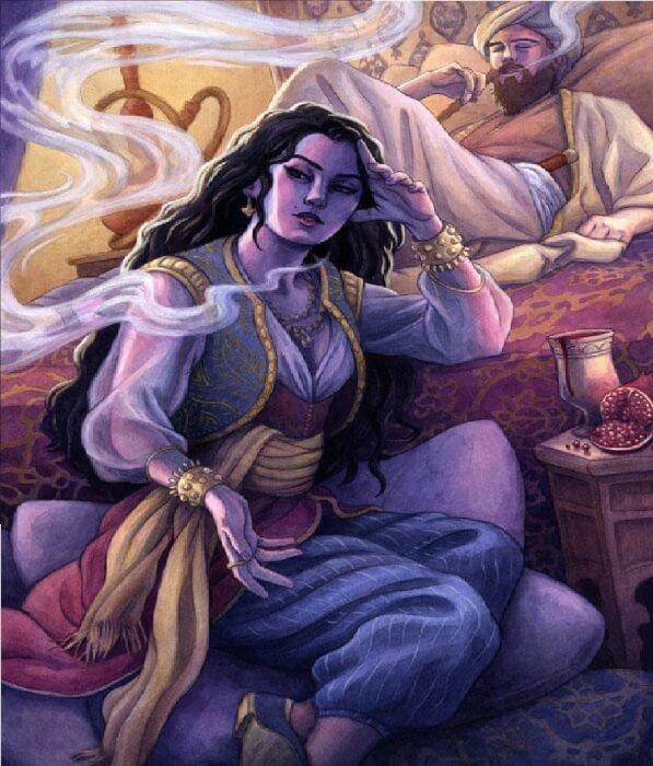 قصة الملك شهريار والفتاة شهرزاد