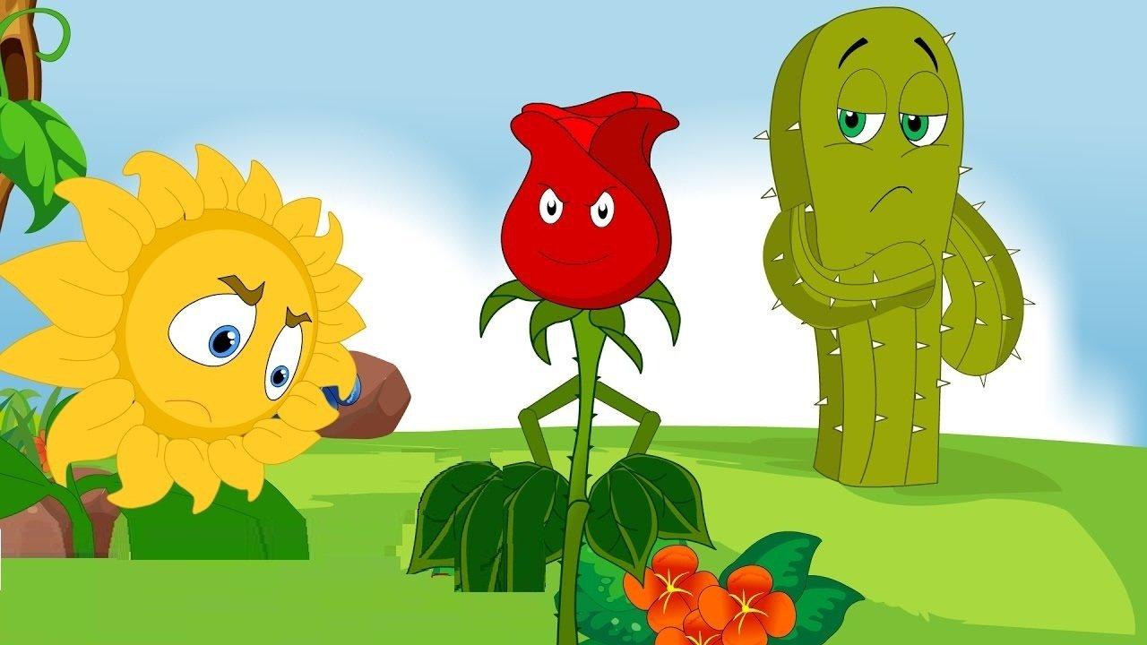 قصة الوردة الحمراء المغرورة