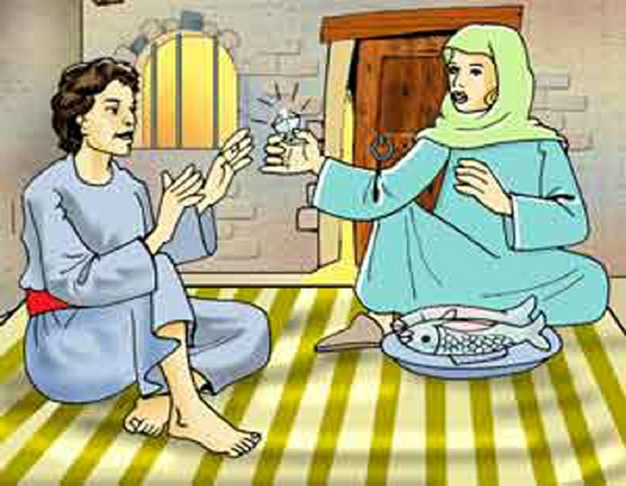 قصة بركة الصلاة على النبي