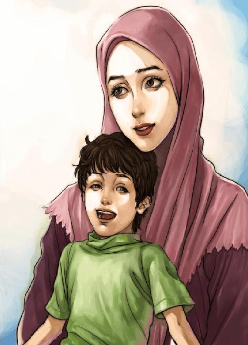 قصة تربية الأم الصالحة