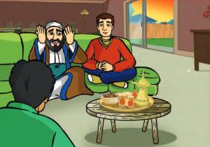 قصة ثمرة بر الوالدين