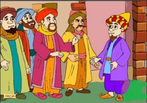 قصة جحا والحكماء الثلاثة