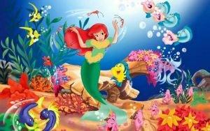 قصة حورية البحر والعشبة السحرية