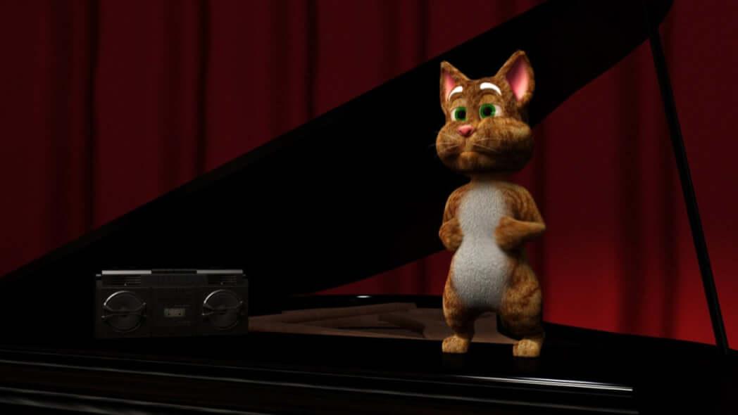 قصة رقصة القط