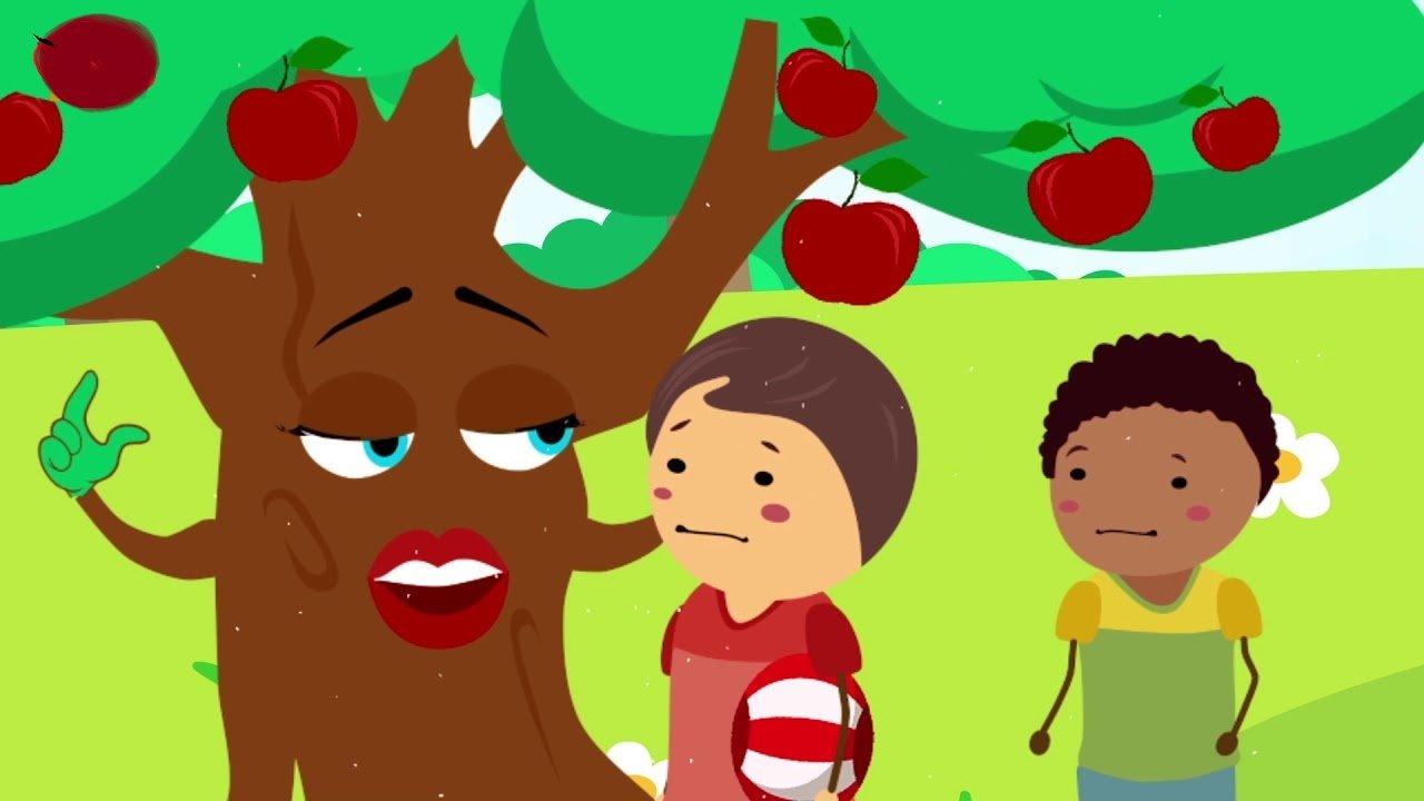 قصة شجرة التفاح المغرورة