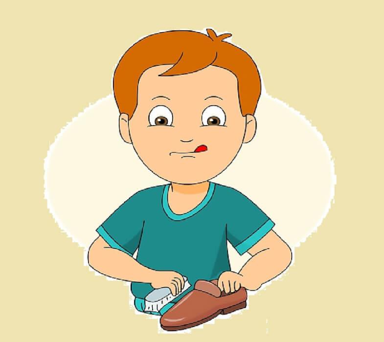 قصة ماسح الأحذية