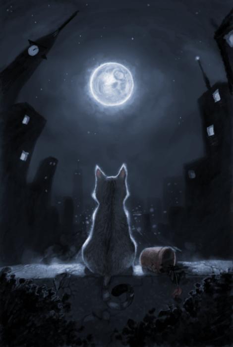 قصة مينو والقمر