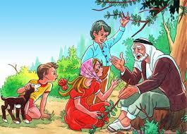 من حكايات جدي سالم قصة الغول الشرير والبنت الصغيرة باللهجة المصرية