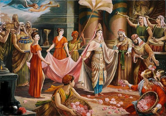 قصة الملكة بلقيس ملكة سبأ