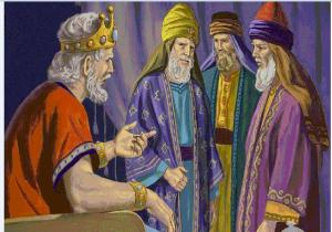 قصة الملك يونان والحكيم رويان